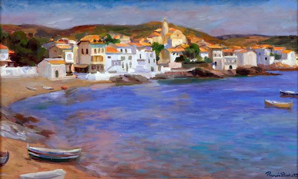 Ramón Pichot Soler, Cadaqués en pintura, Pintura Catalana, Pintores españoles, pintura española, impresionismo español