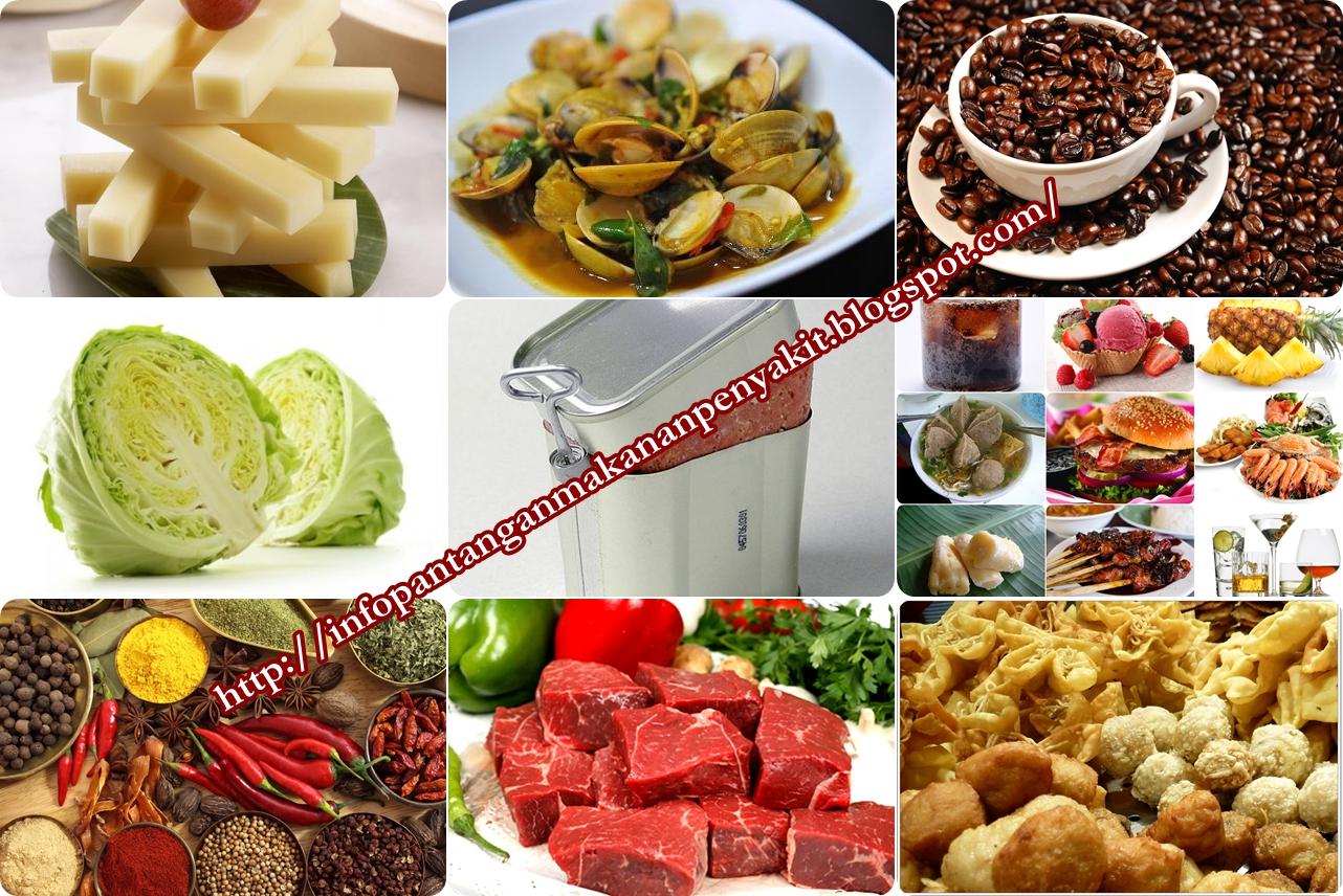 Pantangan Makanan Bagi Penderita Asam Lambung