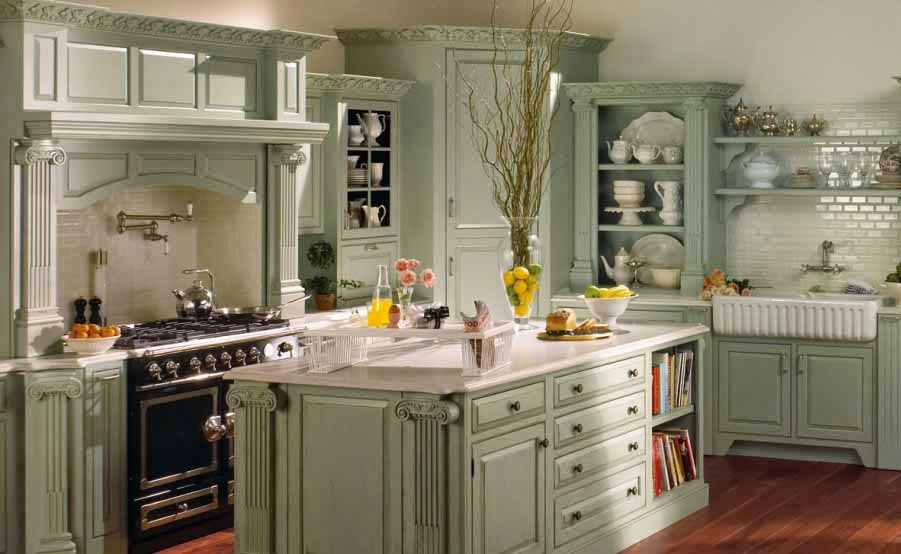 French Country Style Kitchen Unique Classical