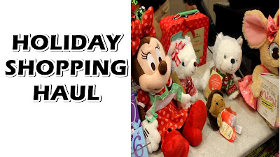 Holiday Shopping Haul At Hallmark Gold Crown Store