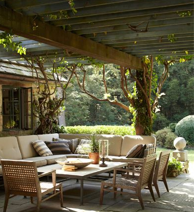 Image Via Elle Decor Collected By Linenandlavender For Alfresco Outdoor Living