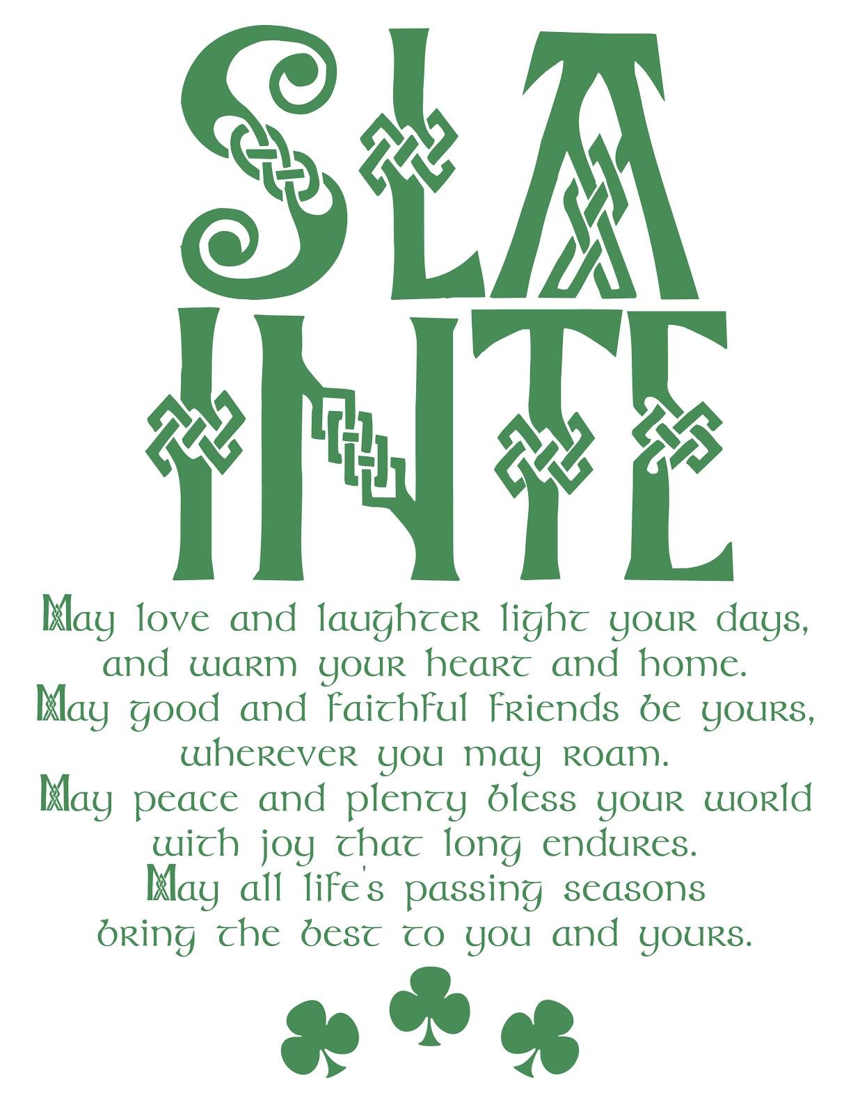 St Patricks Day Limericks And Poems