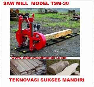 jual mesin sawmill 30 cm