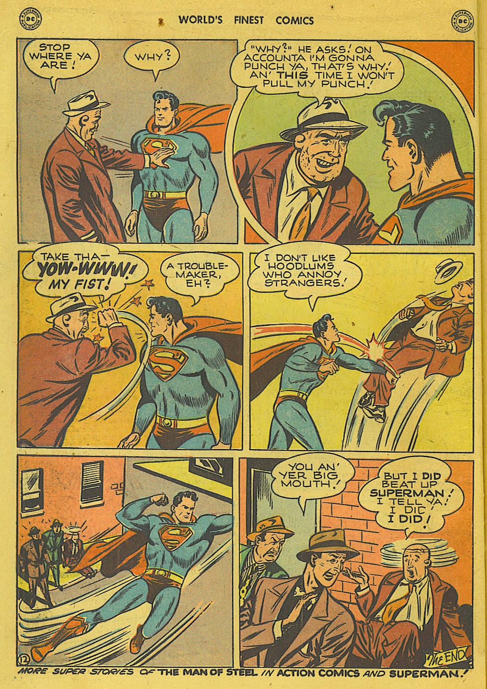 Read online World's Finest Comics comic -  Issue #34 - 14