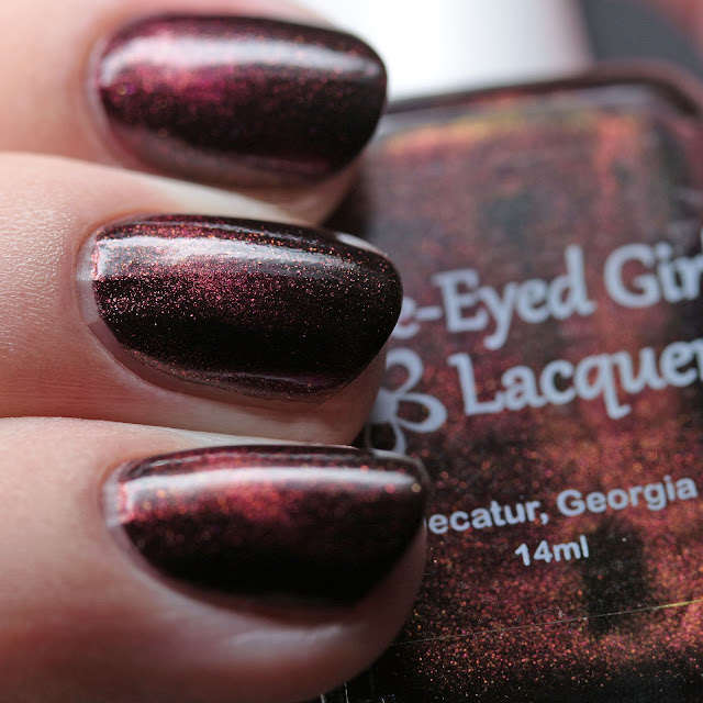 Blue-Eyed Girl Lacquer Scarlet Flame
