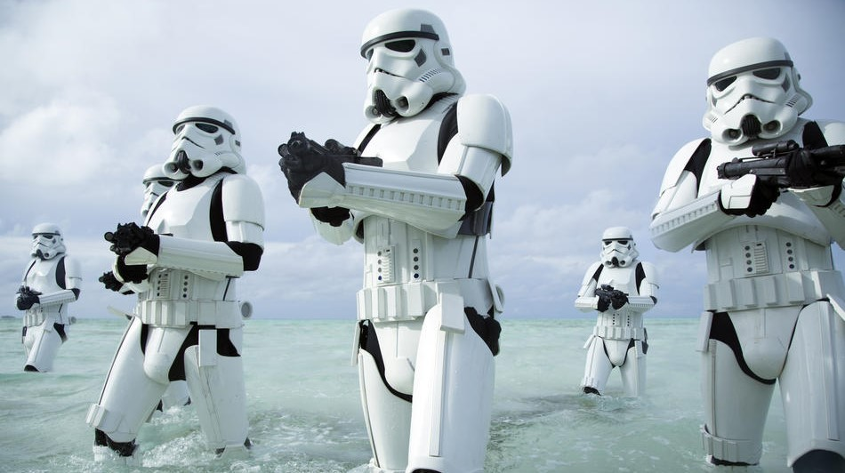 Artes de Rogue One: Uma História Star Wars revelam os combatentes Rebeldes & o Império