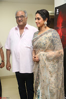 Sri Devi in designer saree stunning beauty at the launch of MOM movie Trailer~  Exclusive 149.JPG