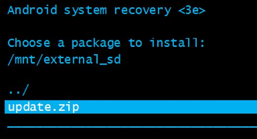 Flash Firmware Via Recovery