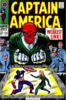 Captain America v1 #103 marvel comic book cover art by Jack Kirby