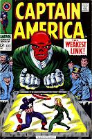 Captain America v1 #103 marvel comic book cover art by Jack Kirby