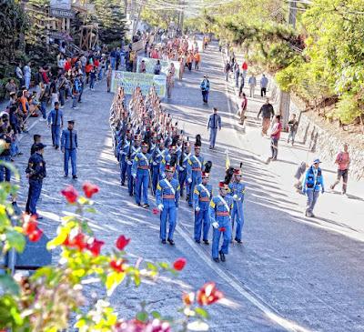 PMA Cadets Baguio Flower Festival Vantage Capture