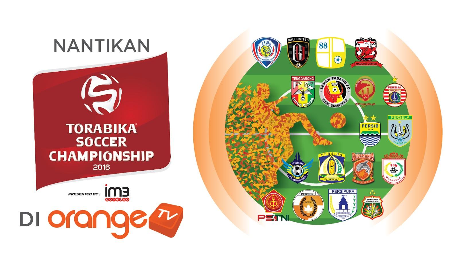 OrangeKU Torabika Soccer Championship Orange TV