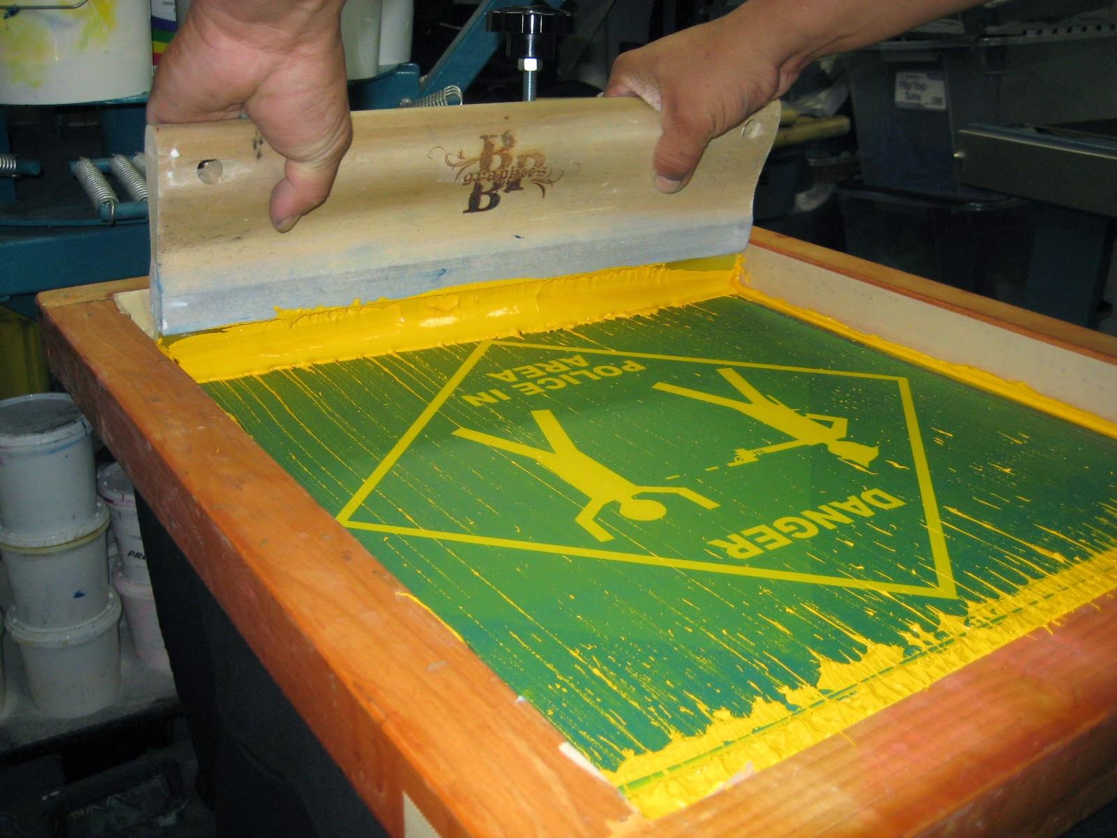 Silkscreen Tshirt Printing