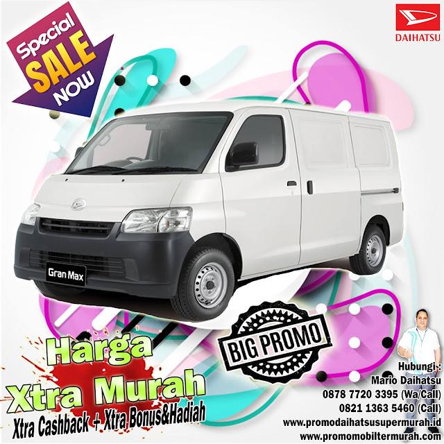 promo daihatsu granmax blind van