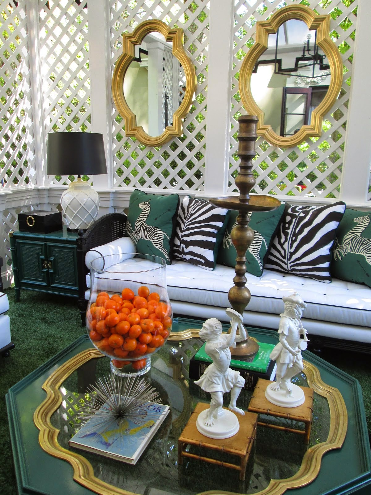 The Glam Pad Palm Beach Chic With Parker Kennedy Living