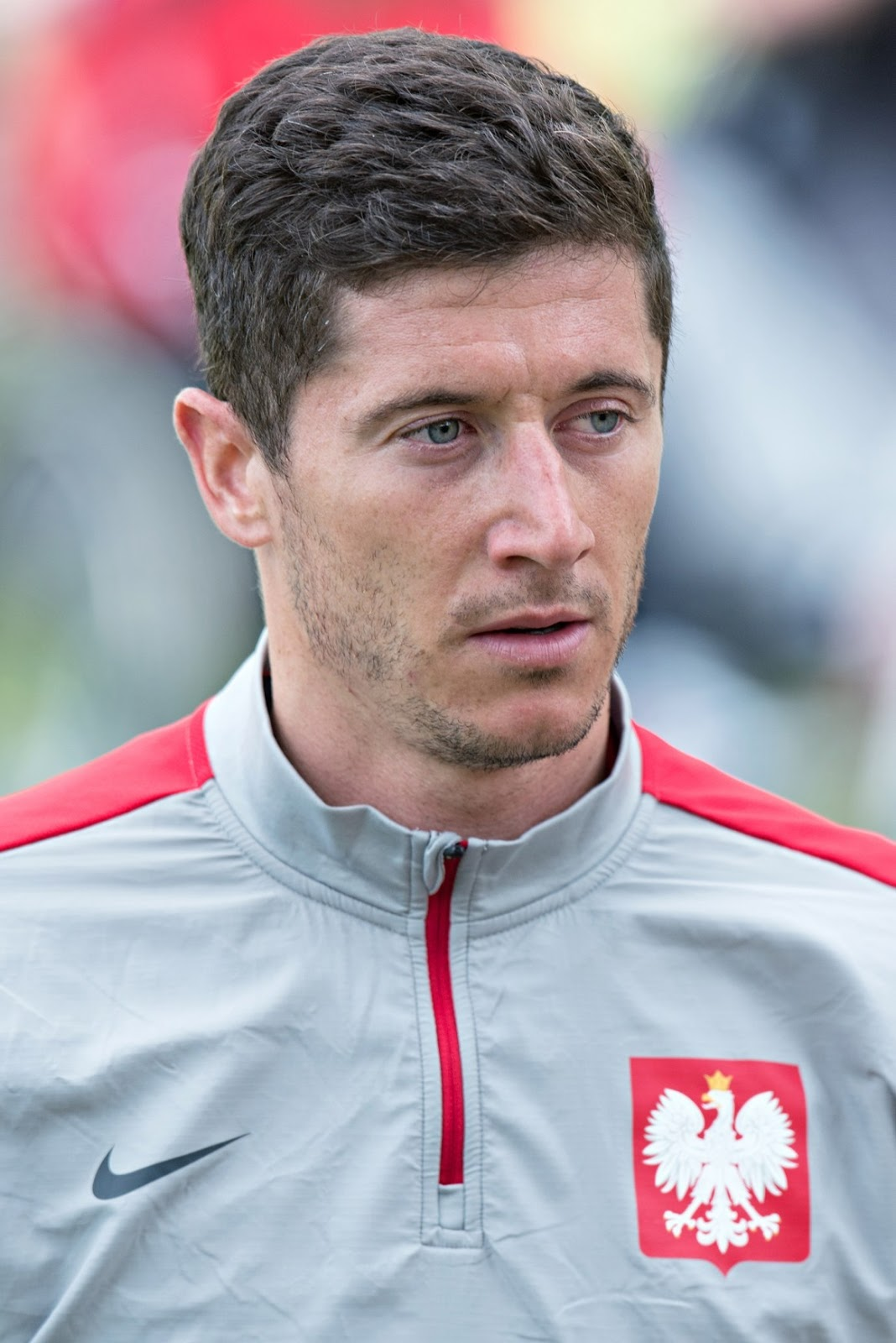 robert lewandowski fotoshooting