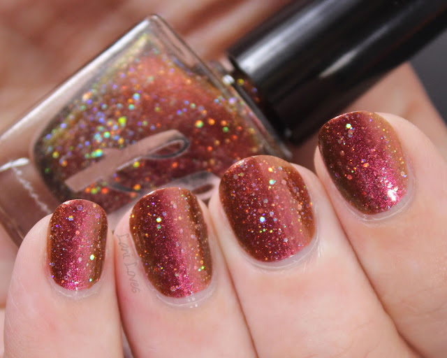 Femme Fatale This Freckled Witch Nail Polish Swatches & Review