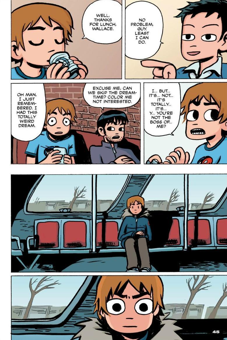 Read online Scott Pilgrim comic -  Issue #1 - 39