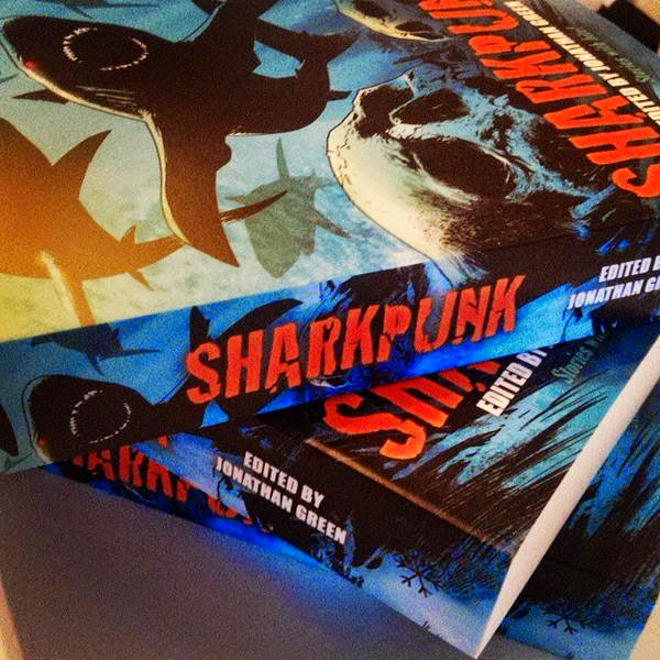 Jonathan Green Author Sharkpunk The First Review