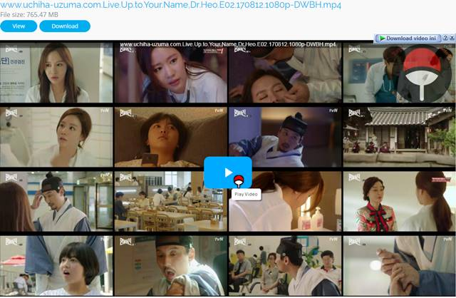 Screenshots Drama Korea Live Up to Your Name, Dr Heo aka Myeongbulheojeon aka Deserving of the Name aka 명불허전 (2017) Episode 02 1080p 720p 480p 360p Subtitle English Indonesia MP4