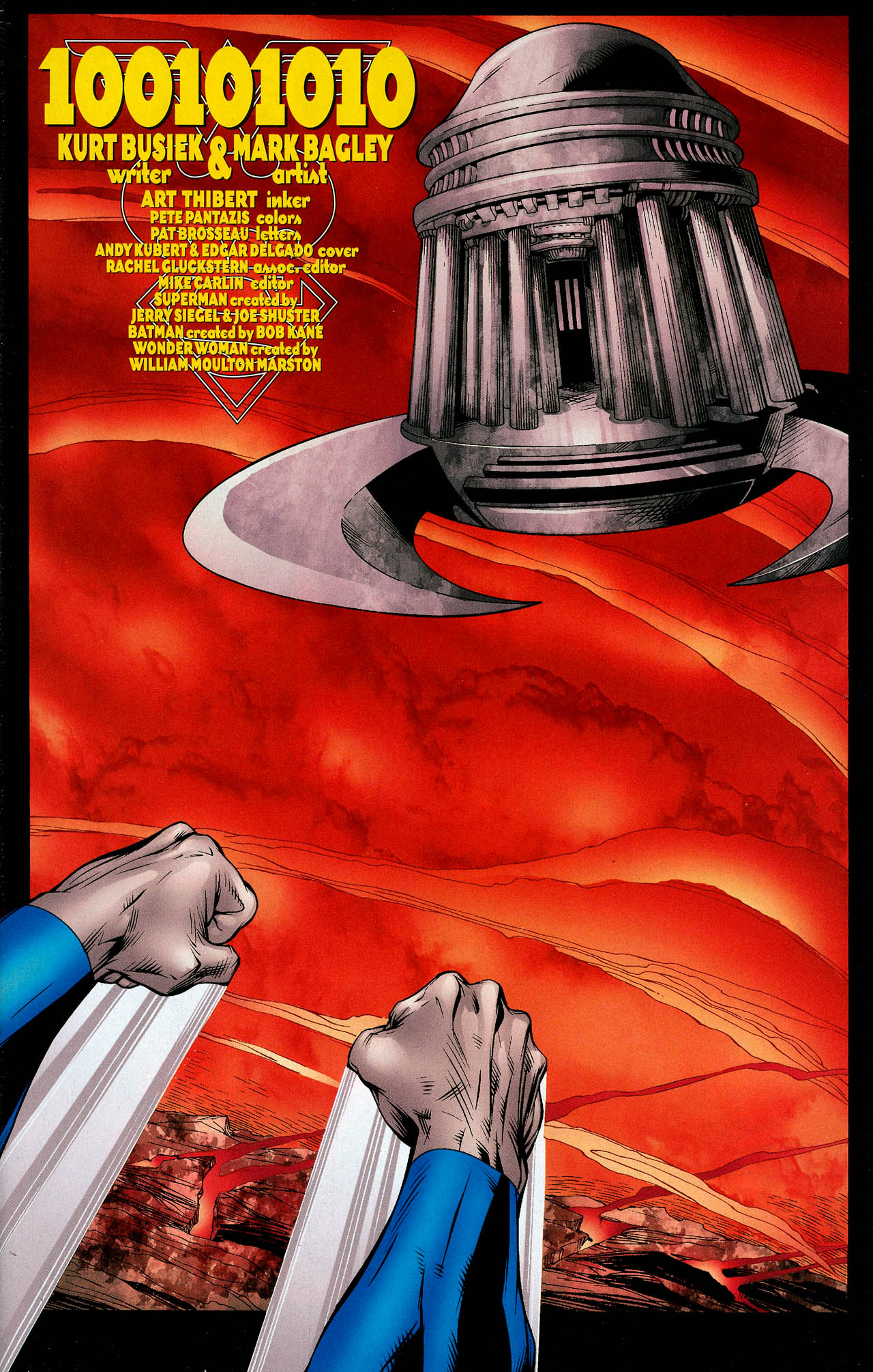 Read online Trinity (2008) comic -  Issue #12 - 3