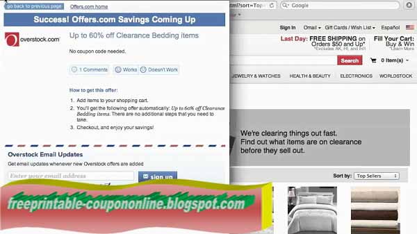 Save up to 70% with these current Overstock coupons for December The latest hereifilessl.ga coupon codes at CouponFollow.