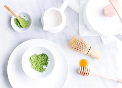 Cách làm trắng da với bột trà xanh