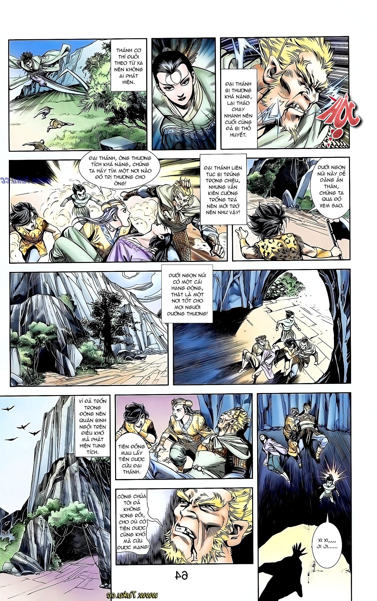 Cơ Phát Khai Chu Bản chapter 127 trang 24