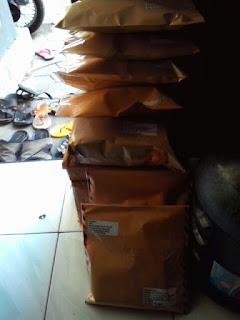 paket pengiriman distributor