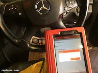 Mengintip 24 Control Unit di Mobil Mercedes E 250 CGI dengan Scanner Mobil Launch x431