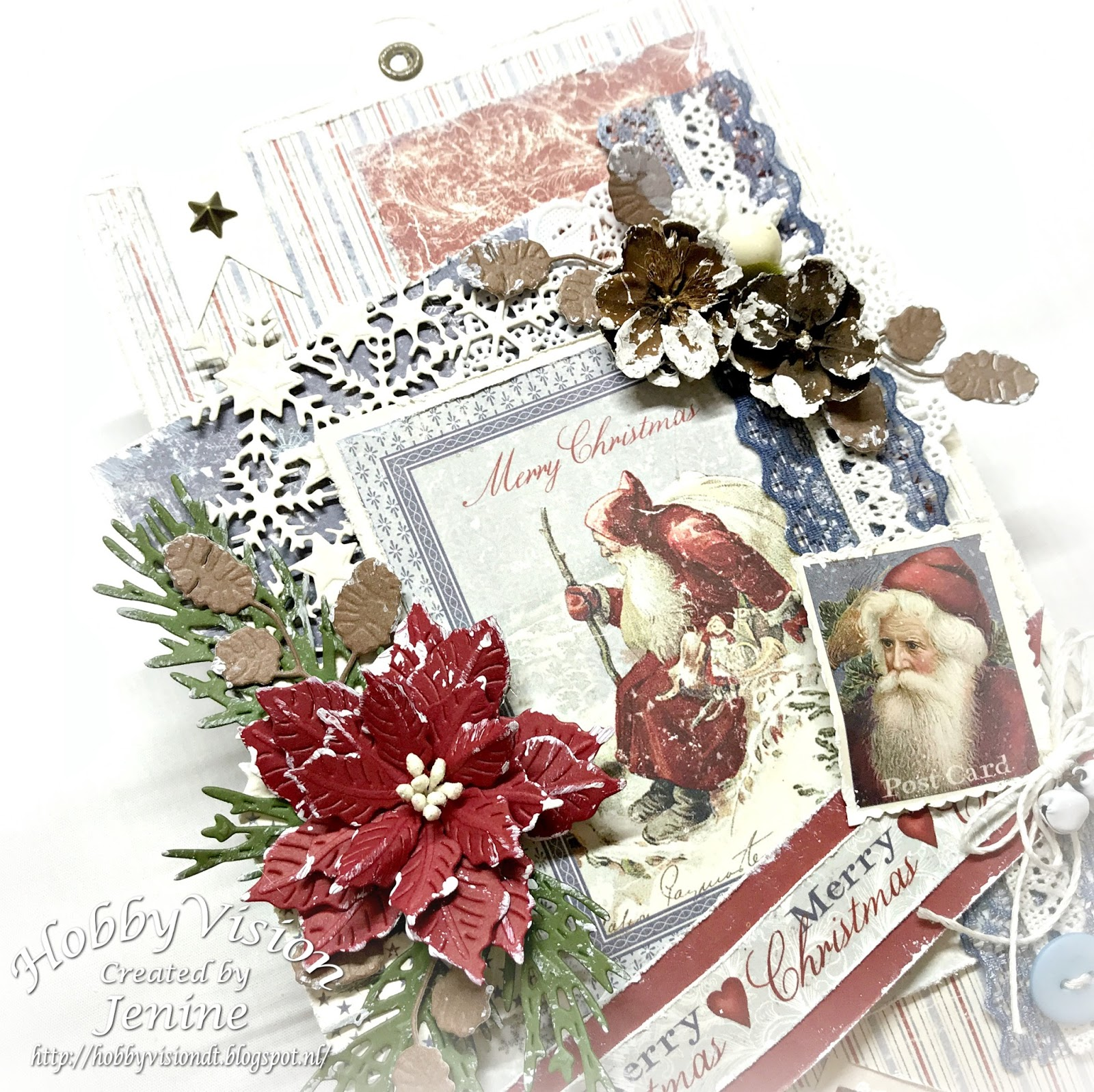 Jenine Siemerink: Label Merry Christmas