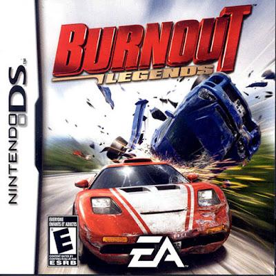 Burnout Legends PSP PPSSPP