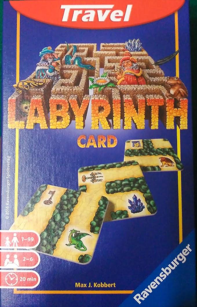 Labyrinth Card - Reseña