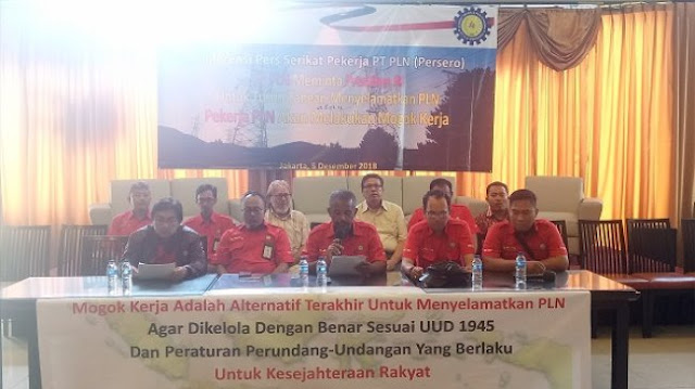 Kondisi Perusahaan Memburuk, 35 Ribu Pegawai PLN Bakal Mogok Nasional