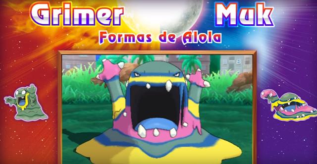 Pokémon Sol y Luna | ¡Presentado a Muk de Alola, a la Kahuna de Alola, nuevos entrenadores y evoluciones!