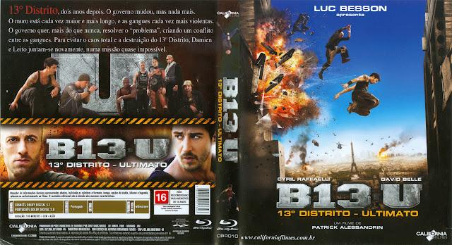 Capa Blu-ray B13 U 13º Distrito Ultimato