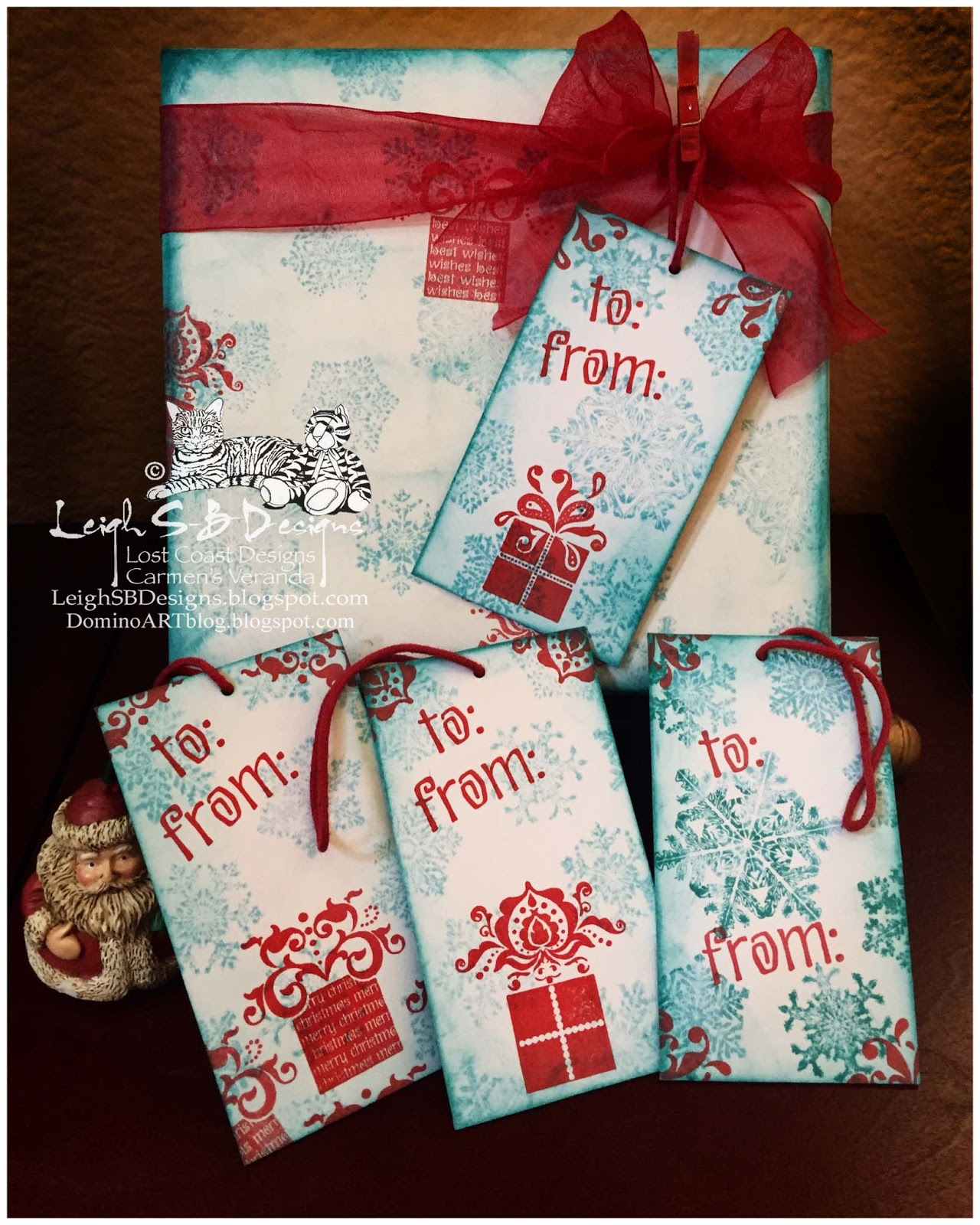 christmas in july gift tags