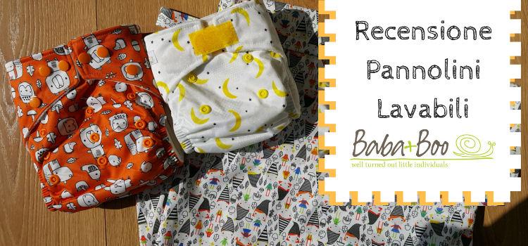 Recensione: Pannolini Lavabili Baba + Boo