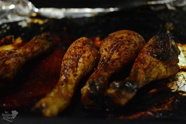 Jamoncitos de pollo con curry y miel tererecetas 05