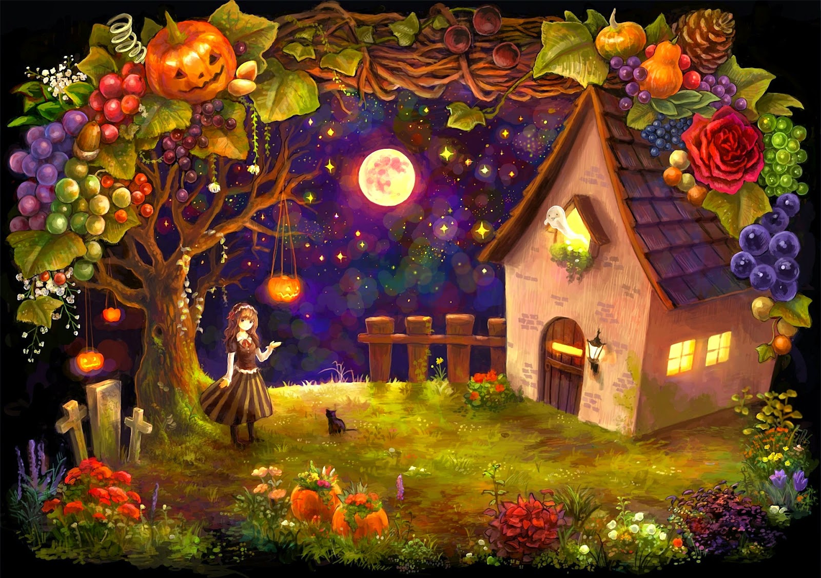 Dark Theme Wallpaper Hd Quote Happy Halloween Day Holiday Wishes Text Pictures Card For
