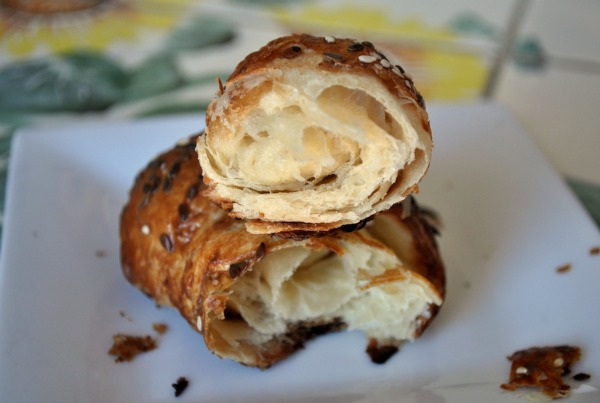 Pretzel Croissants from Crumbs of Love for the April 2014 Bread Baking Babes & Buddies Challenge