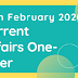 Current Affairs One-Liner: 14th February 2020
