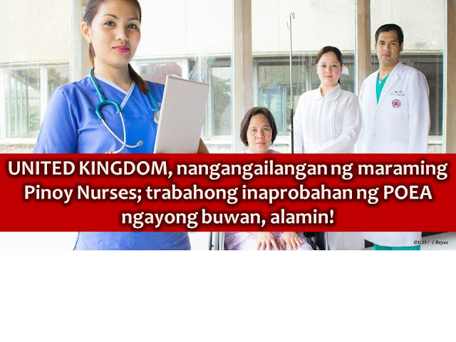 Here is another good news to Filipino nurses who wants to pursue their career in the United Kingdom.  According to PTV News, the Nursing and Midwifery Council (NMC) amends the International English Language Testing System (IELTS) requirements for nurses and midwives coming on to the register from different countries, of course, including The Philippines.  Under the previous system, applicants had to achieve the IELTS Academic Test Level 7 in reading, writing, speaking and listening.