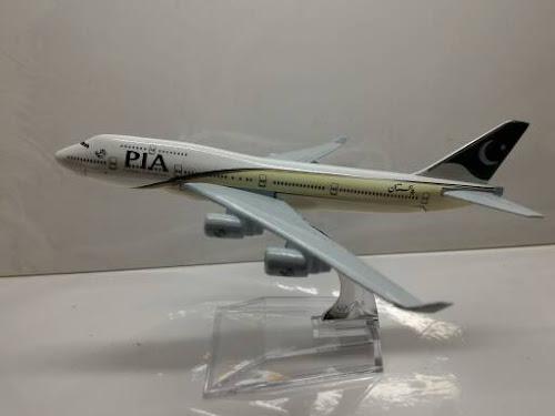 Cara Membuat Mainan Pesawat | PIA Pakistan International Airlines