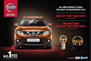 Nissan X-Trail car of the year