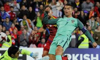 Andorra vs Portugal 0-2 - Highlights Kualifikasi Piala Dunia 2018