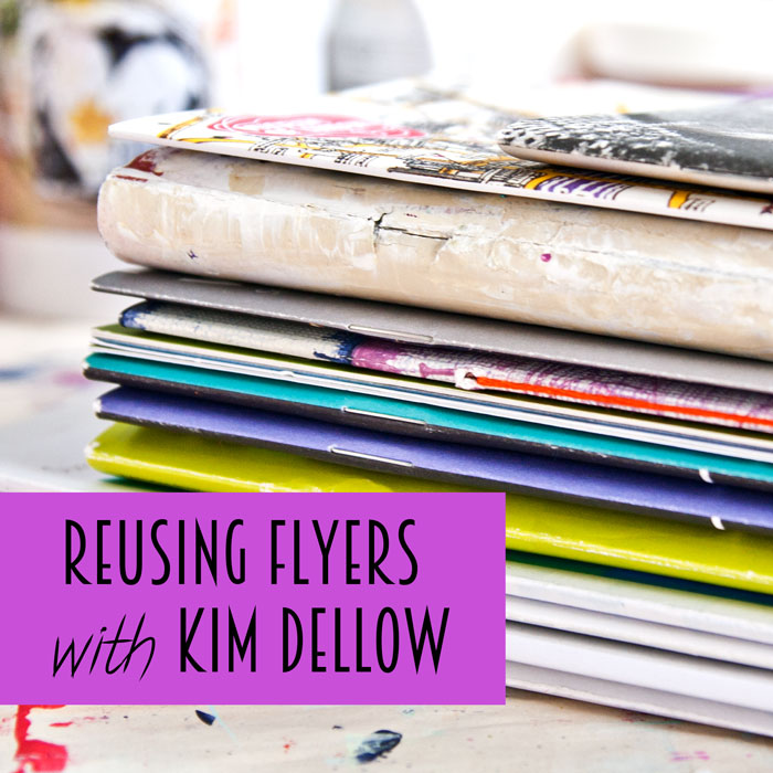 A new video from Kim Dellow how to source free art journals