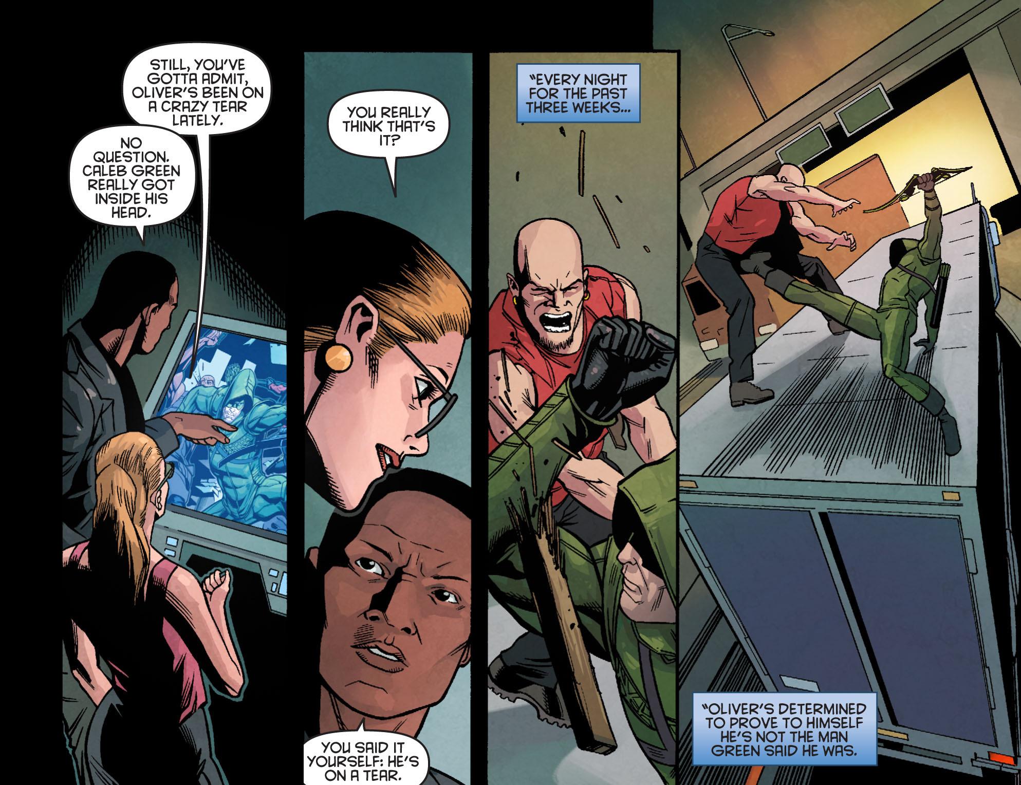 Read online Arrow: Season 2.5 [I] comic -  Issue #24 - 9