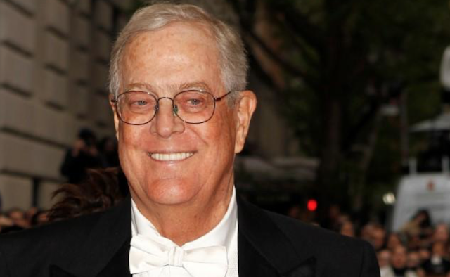Fearing Democratic wave, Koch network to spend big on U.S. midterm elections