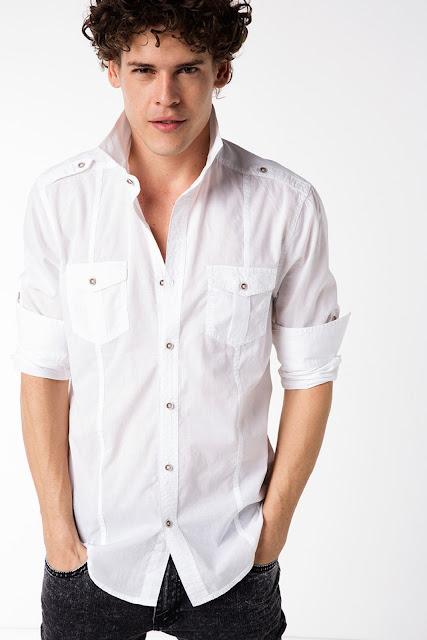 Beyaz gömlek modelleri